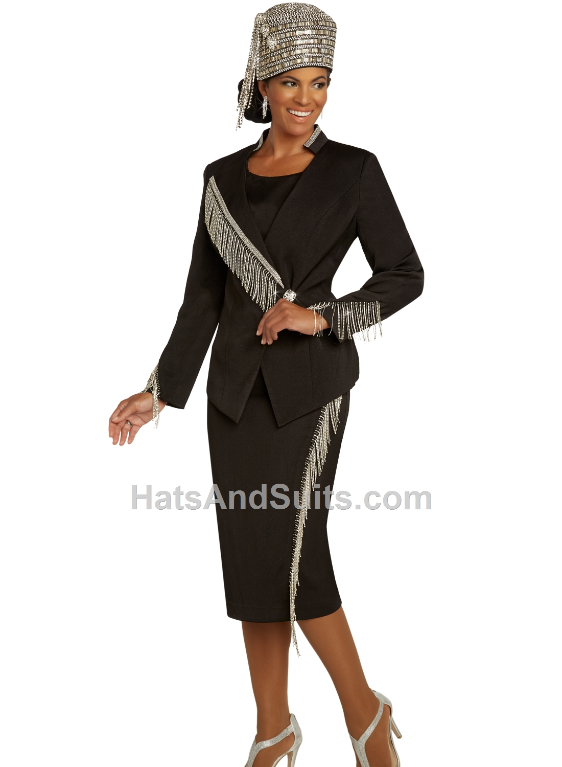 11852 Donna Vinci 2 Pc. Jacket & Skirt Set. SP20