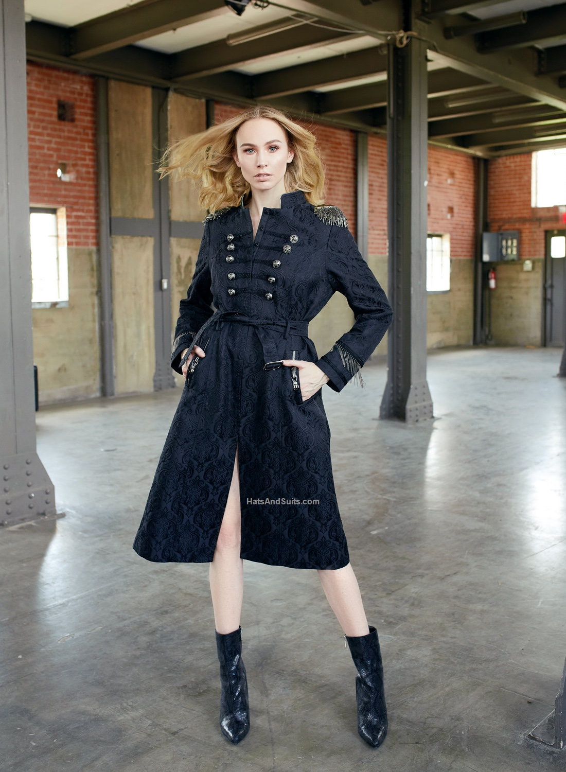 JUST VINCI #16010, Limited Edition Coat Dress. FH19