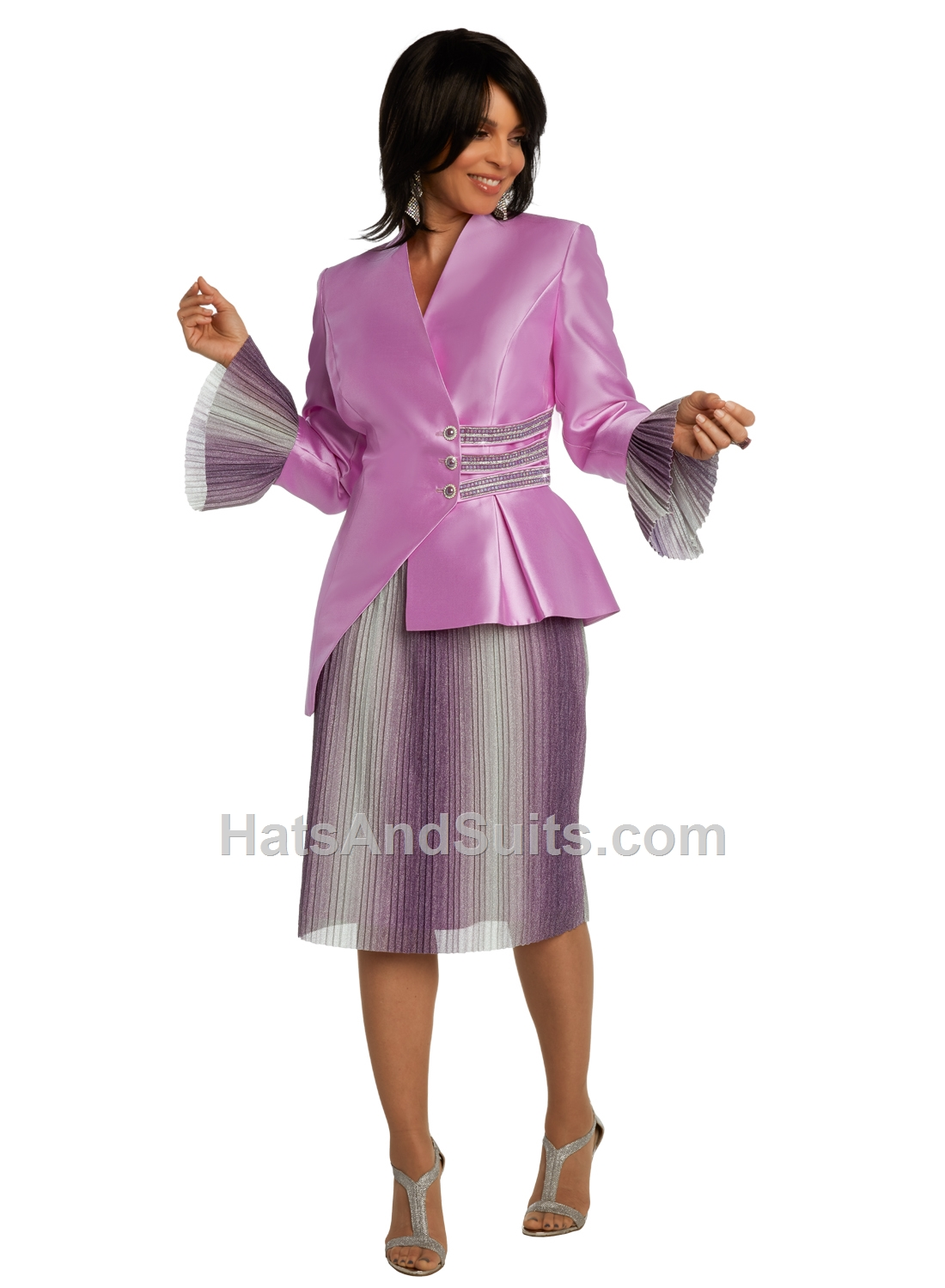 11842 Donna Vinci 2 Pc. Jacket & Skirt Set. SP20
