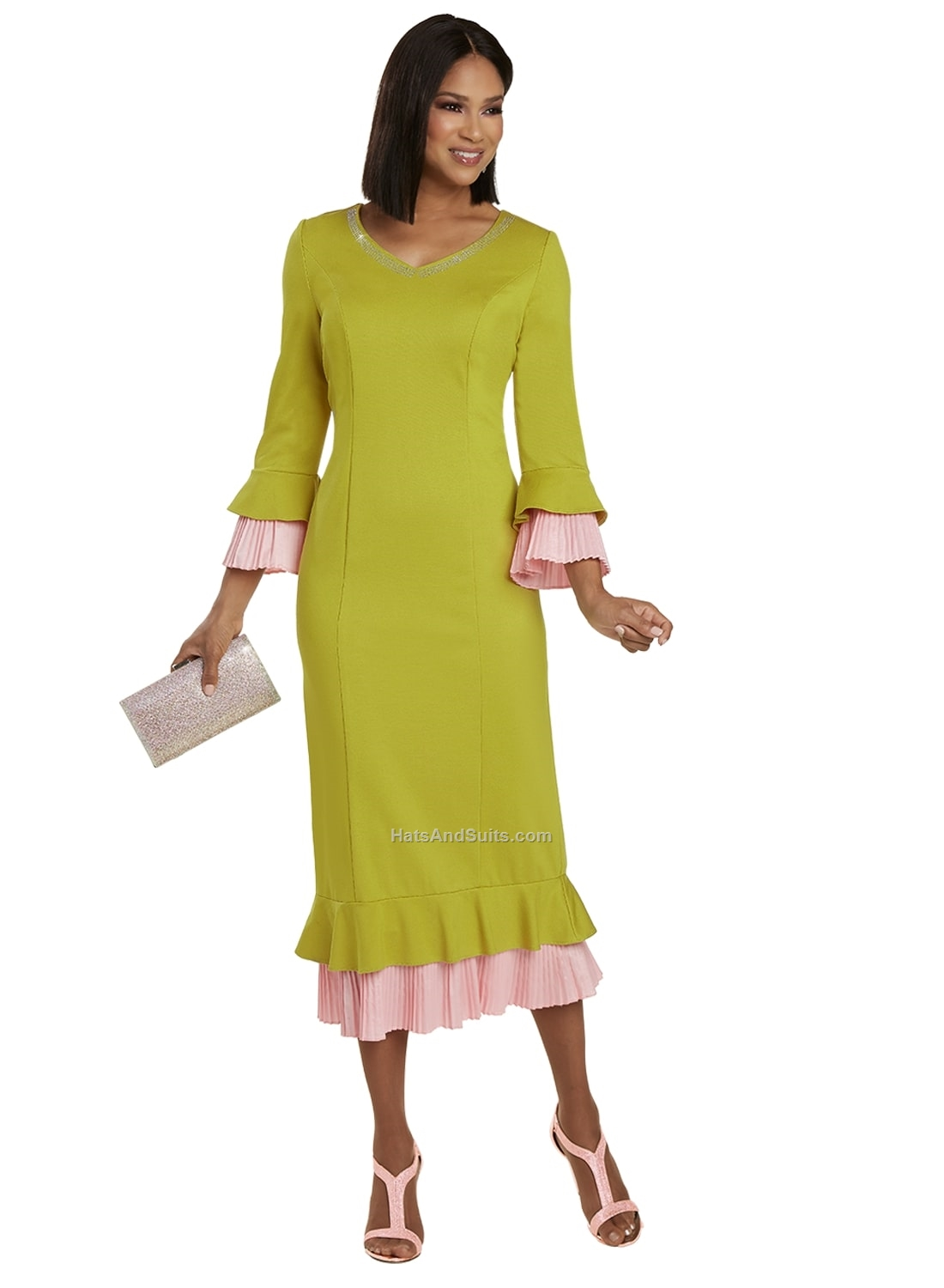 11939 Donna Vinci 1 Pc. Dress. SP21