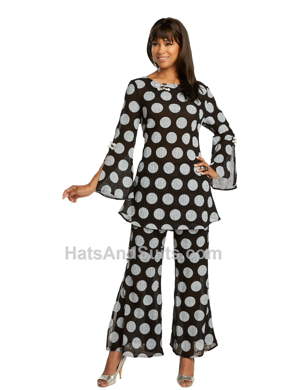 3360 LISA RENE' 2 Pc. Tunic & Pant Set. SP20