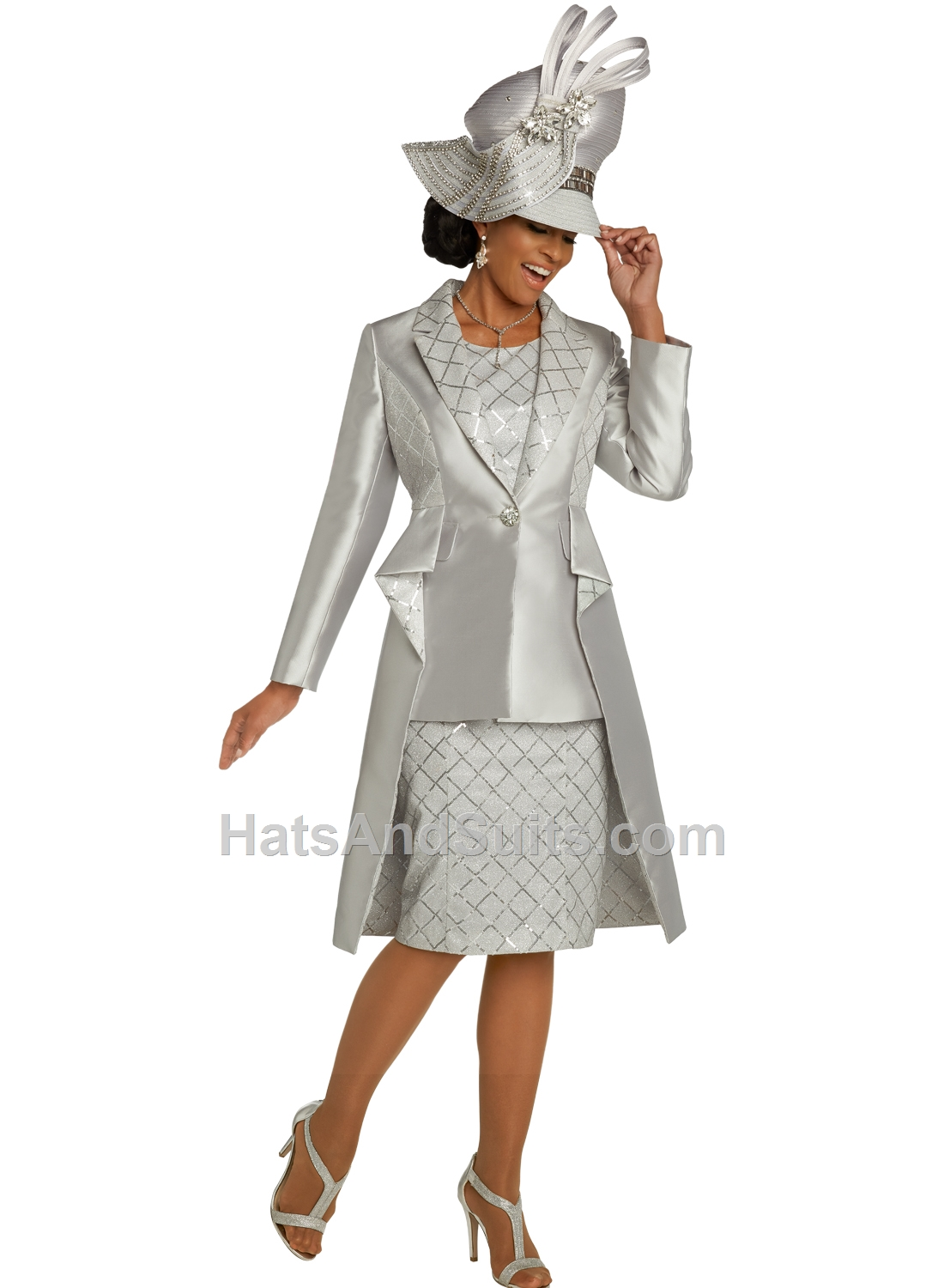 5670 Donna Vinci Couture 2 Pc. Dress & Jacket Set. SP20
