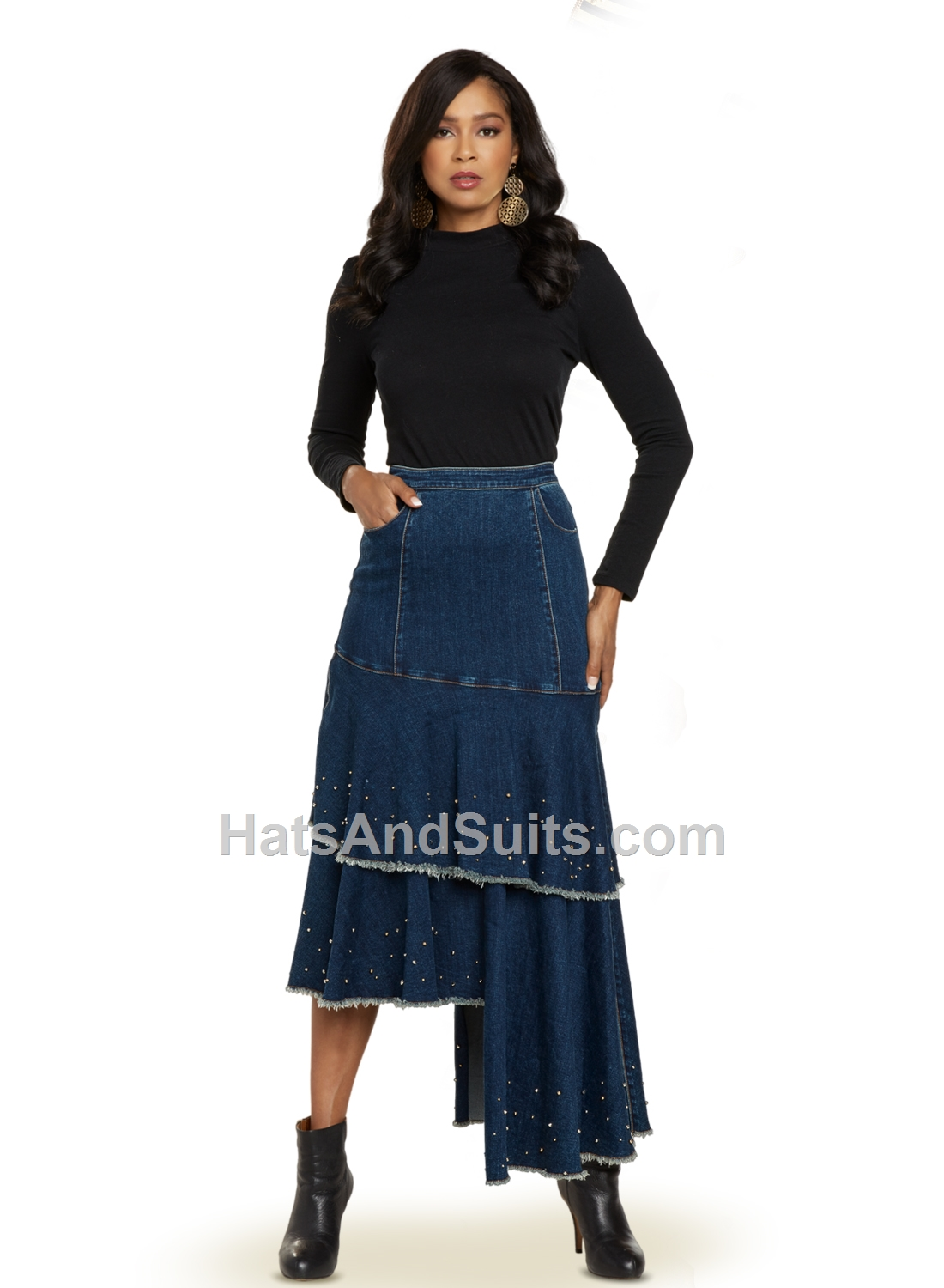 8442 DV Jeans 1 Pc. Skirt. FL20