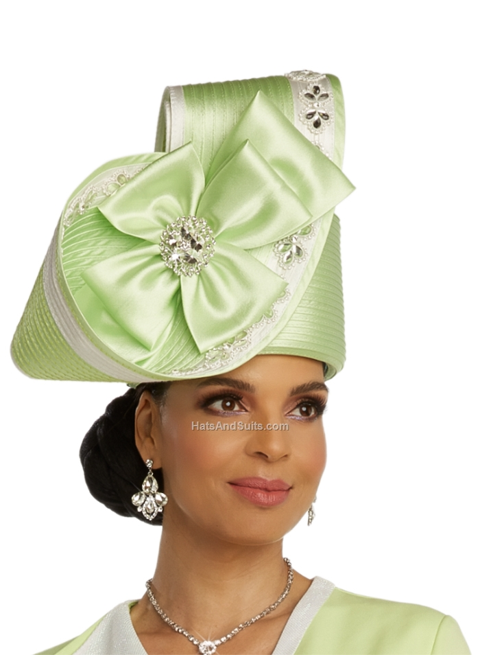 DonnaVinci Couture Hats H11847, With DVC Hat Box. SP20