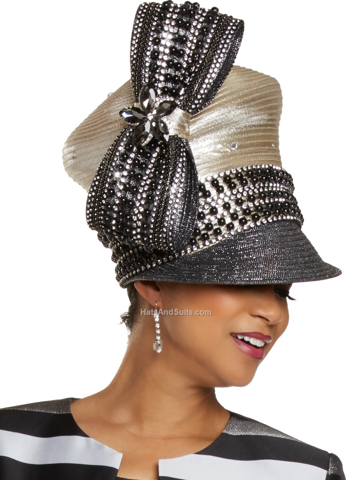 DonnaVinci Couture Hat H11905, With DVC Hat Box. FL20