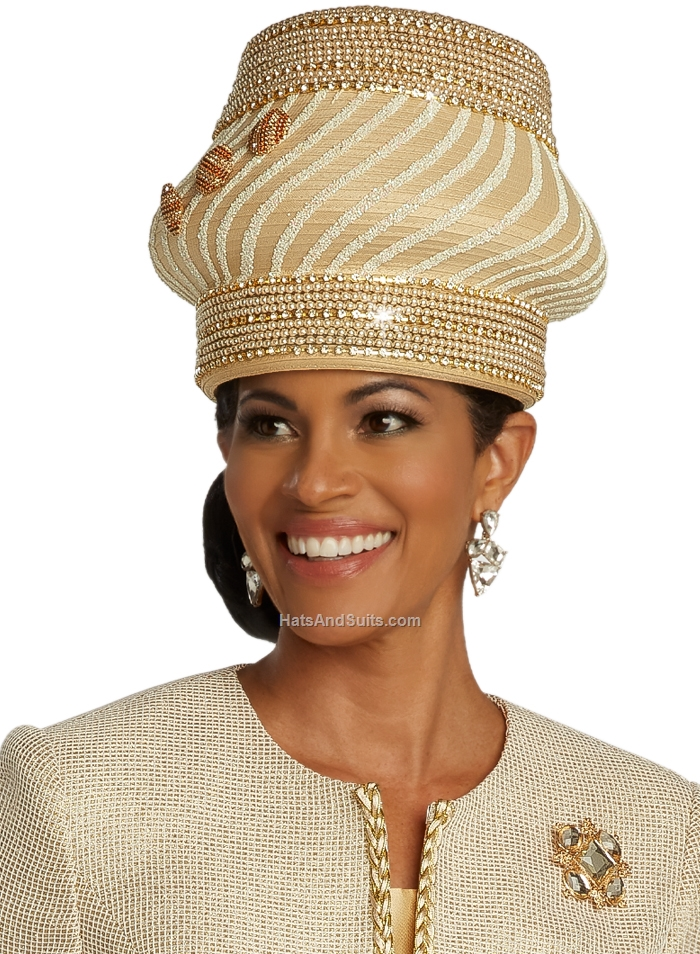 DonnaVinci Couture Hats H5671, With DVC Hat Box. SP20
