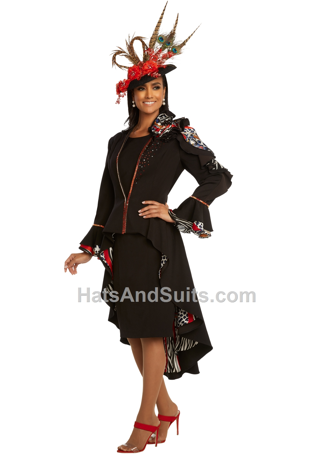 11830 Donna Vinci 2 Pc. Dress & Jacket Set. SP20