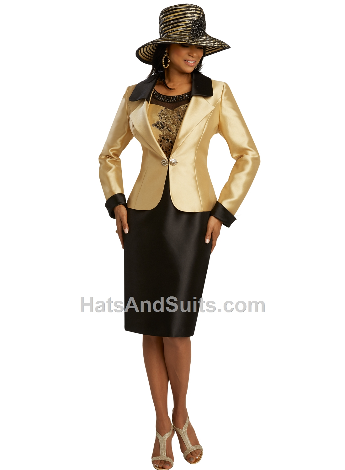 11840 Donna Vinci 2 Pc. Dress & Jacket Set. SP20