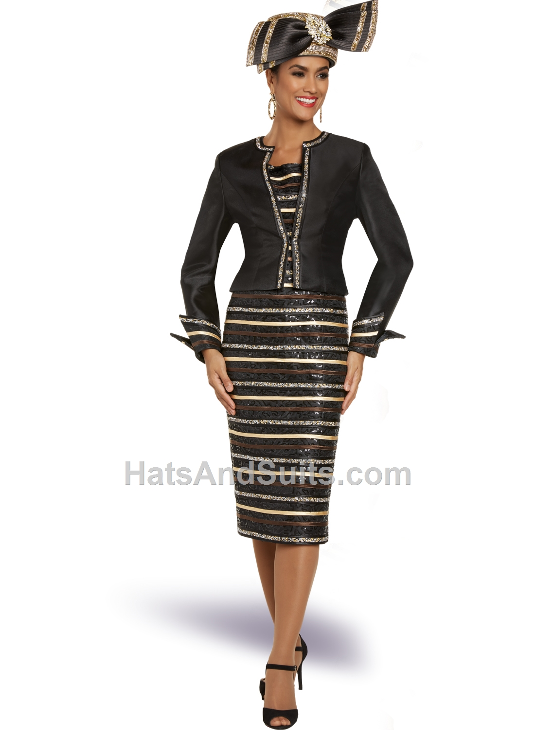 11886 Donna Vinci 2 Pc. Dress & Jacket Set. FL20