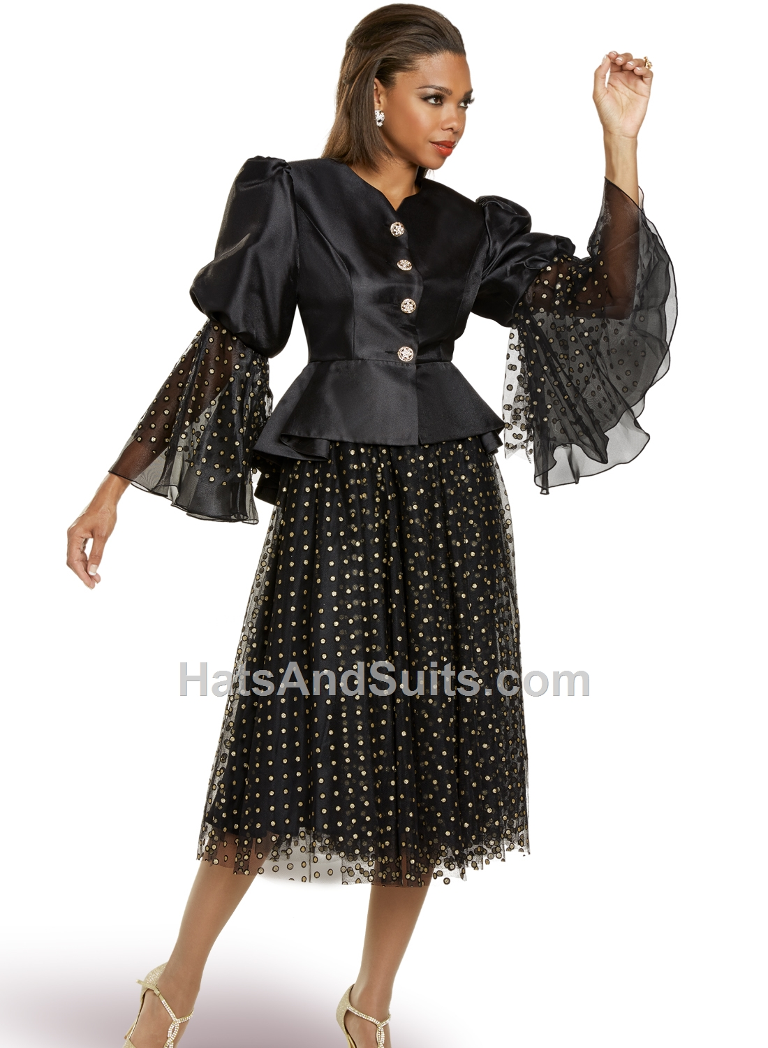 11887 Donna Vinci 2 Pc. Jacket & Skirt Set. FL20