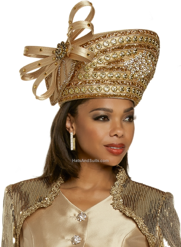 DonnaVinci Couture Hat H5703, With DVC Hat Box. FL20