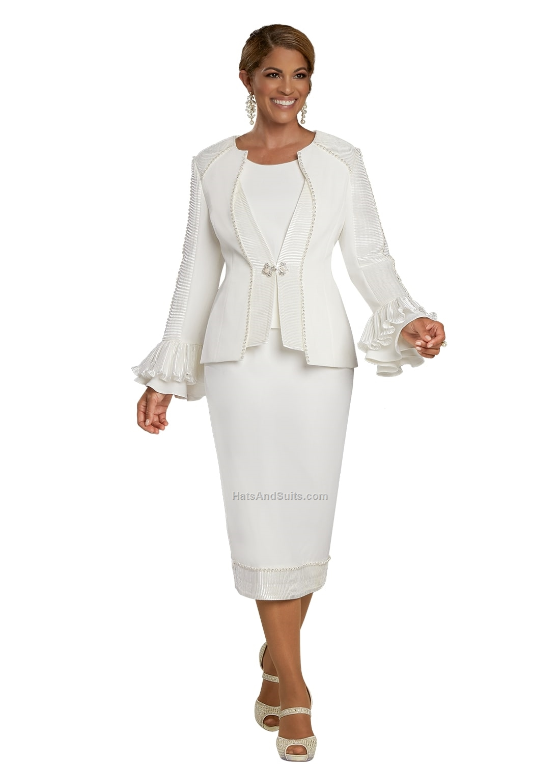 11925 Donna Vinci 3 Pc. Jacket/Cami & Skirt Set. SP21