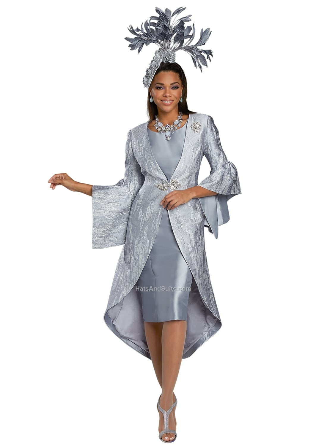 5728 Donna Vinci Couture 2 Pc. Dress & Jacket Set. SP21