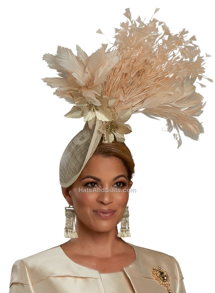 DonnaVinci Couture Fascinator F11931. SP21